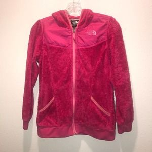 THE NORTH FACE Hot Pink Zip Hoodie